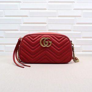 jatar NWT Gucci Marmont Matelasse shoulder bags